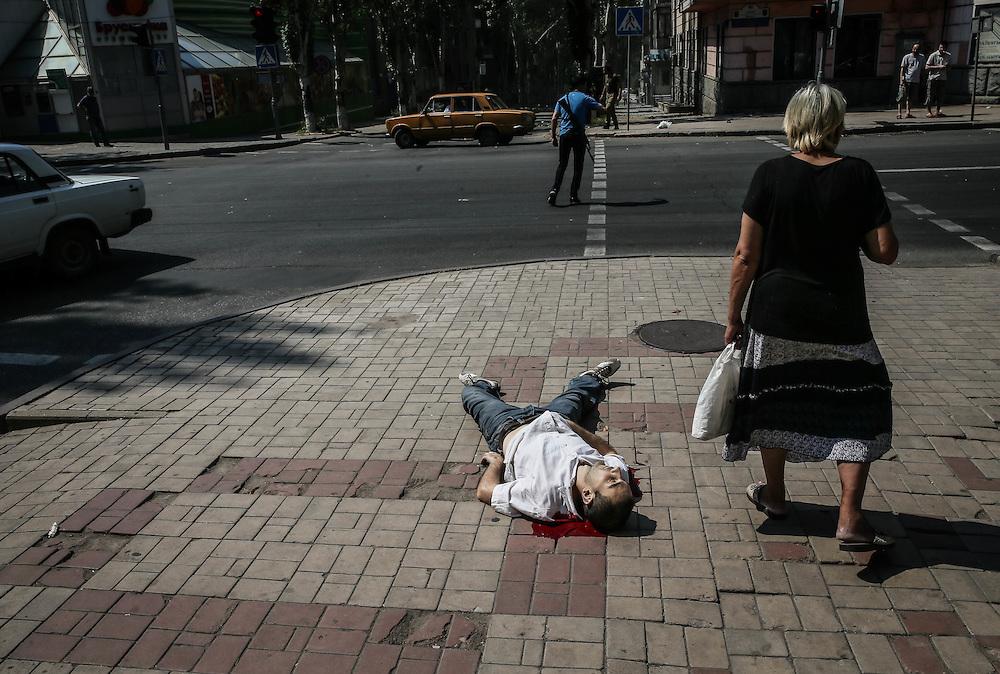 Donecko gatvės