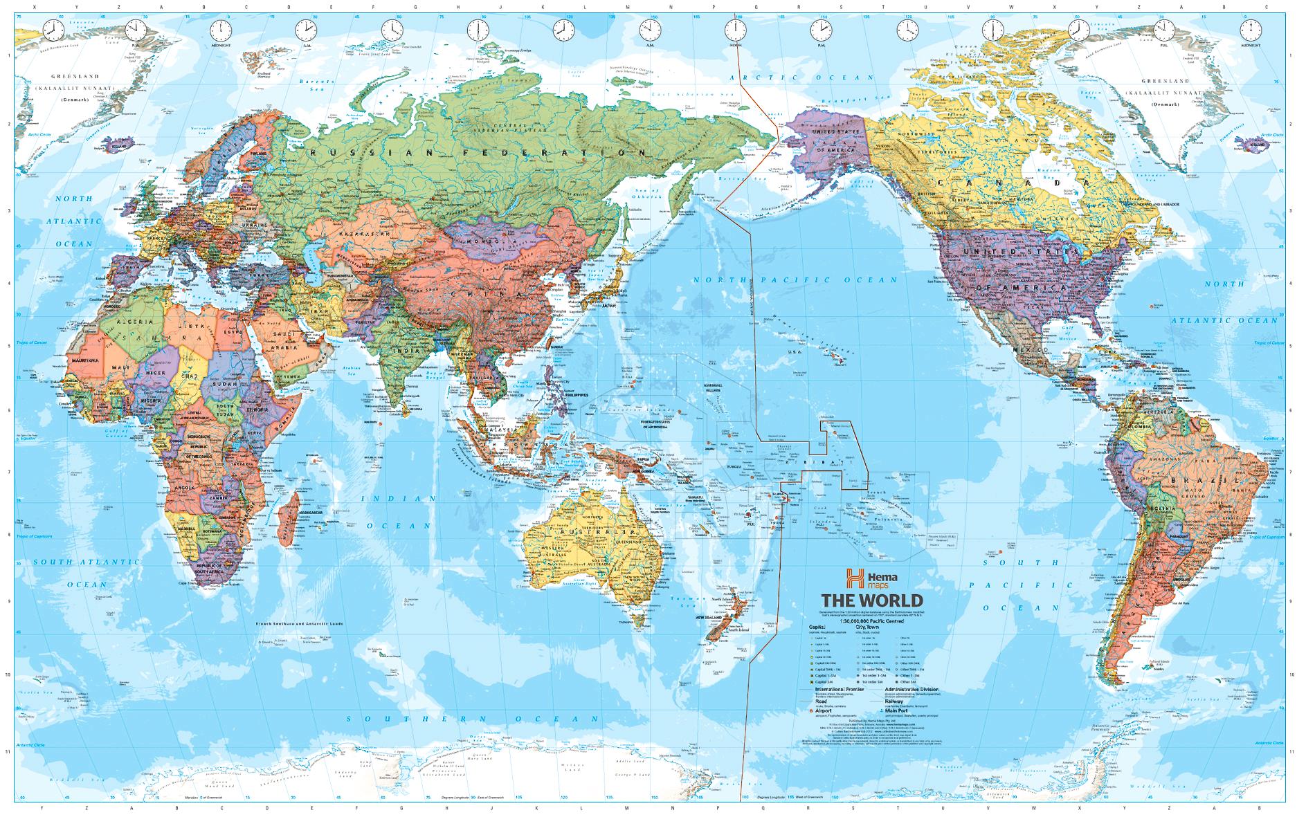 globalus pasaulio politinis žemėlapis