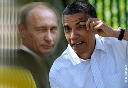 Putinas ir Obama