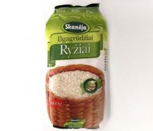 skanėja ryžiai
