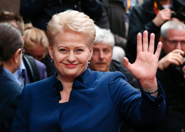 LR prezidentė Dalia Grybauskaitė