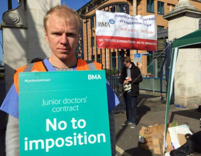 gydytojų streikas