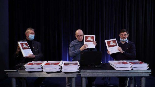 Nuotolinė spaudos konferencija. Ant Stalo 365 tūkstančiai parašų