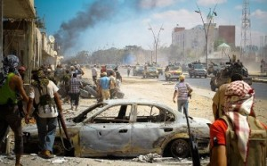 chaosas libijoje