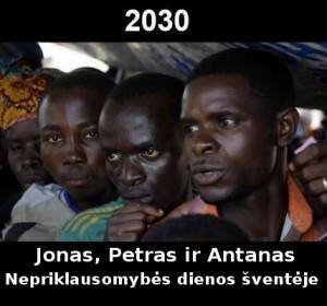 2030 metų lietuviai