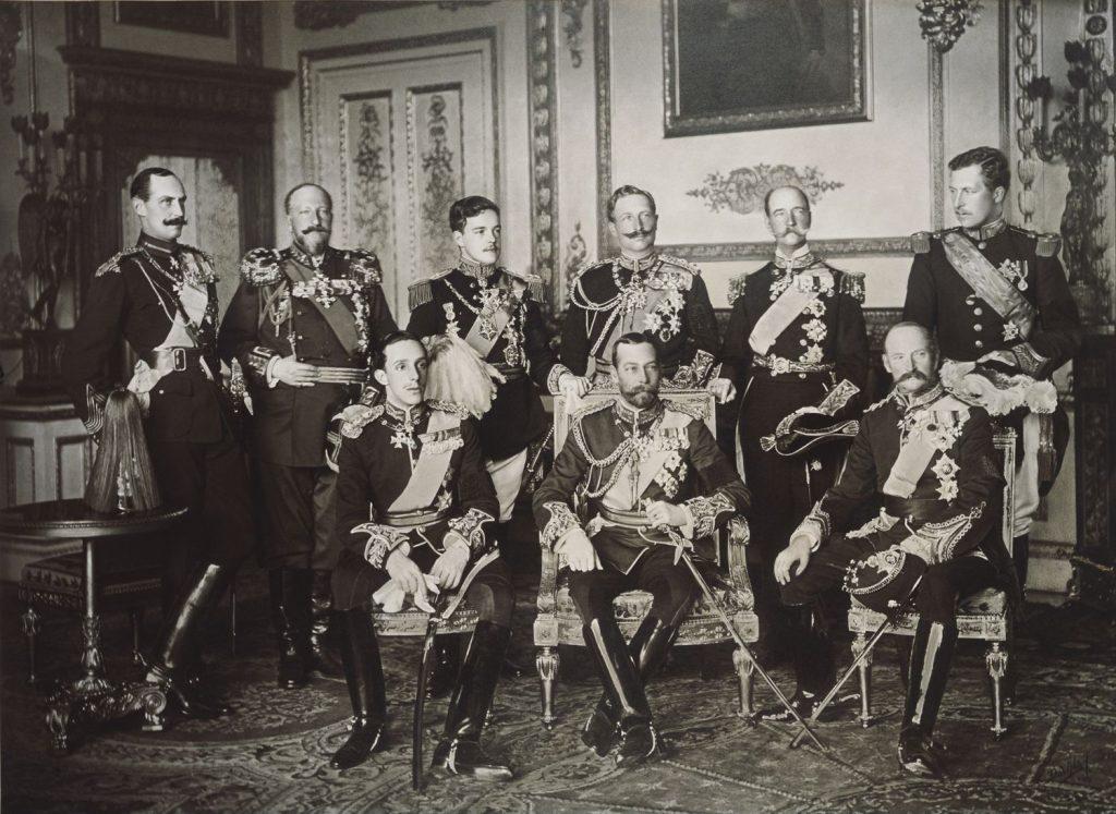 Europos karaliai 1910 metų nuotr.
