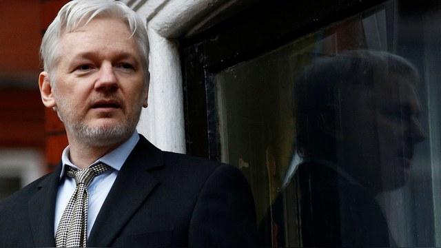 Julian Assange 2016.   REUTERS