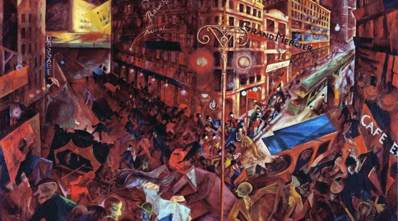 George Grosz. Metropolis 1916-1917m.