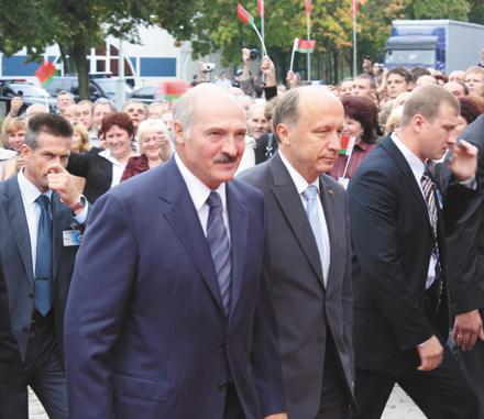A. Kubilius ir A. Lukašenka