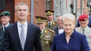 NATO ir Grybauskaite