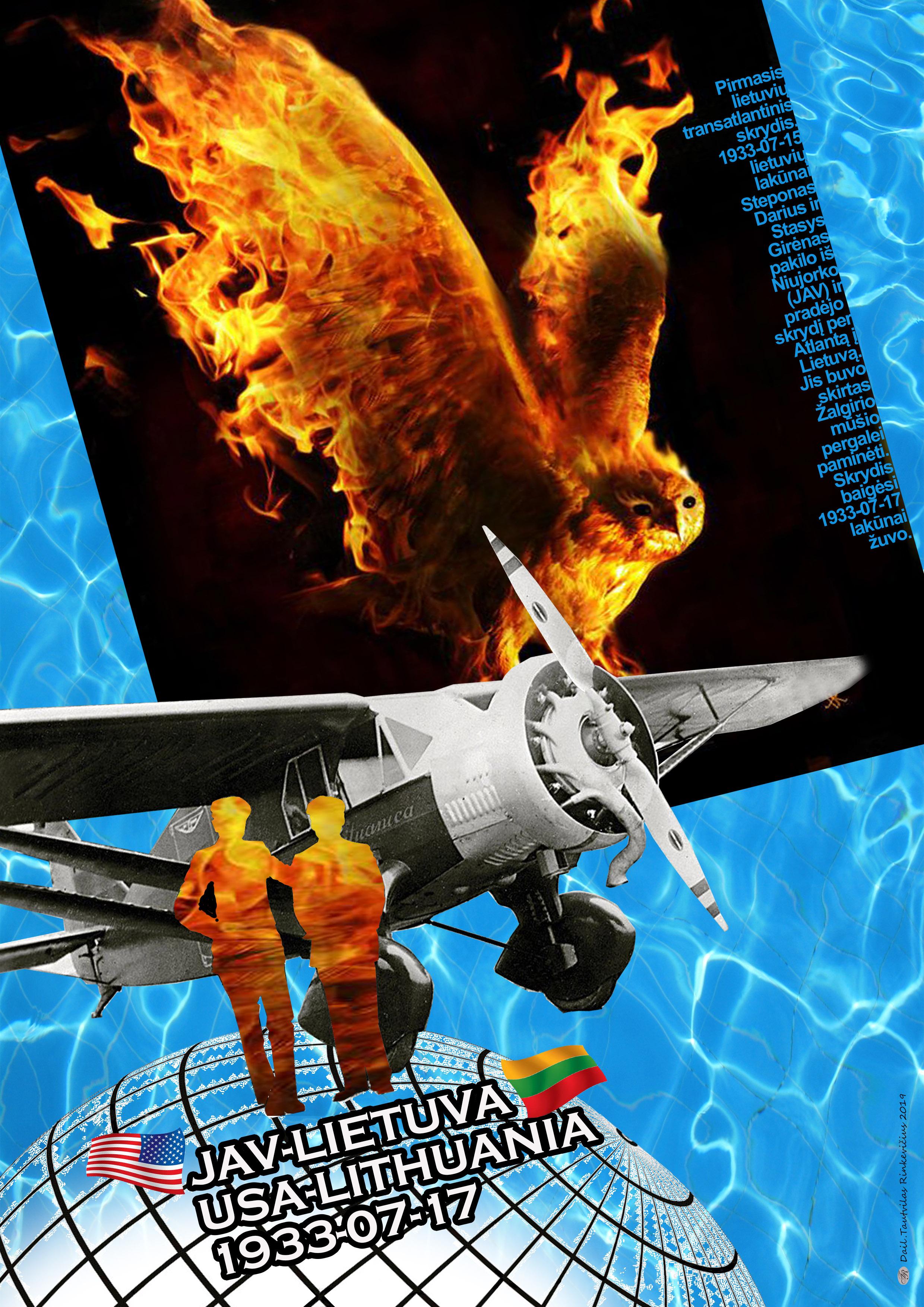 Dailininko Tautvilo Rinkevičiaus plakatas