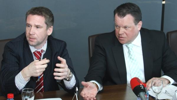 Vladimiras Antonovas ir Raimondas Baranauskas. respublika.lt archyvo nuotr.