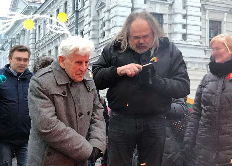 Algirdas Šukys ir Eugenis Paliokas