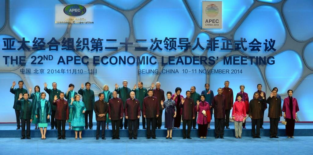 APEC aukščiausio lygio susitikimas_2014_Kinija