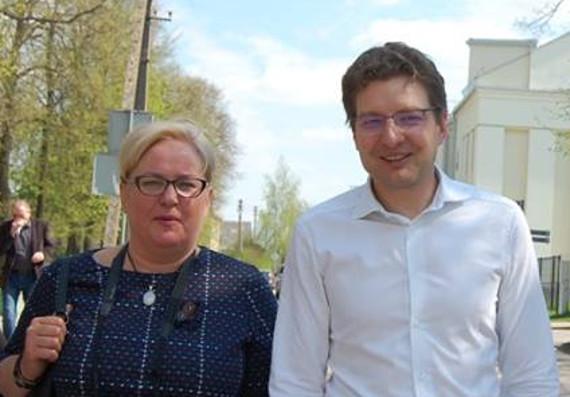 Jolanta Beniušytė ir Dainius Radzevičius