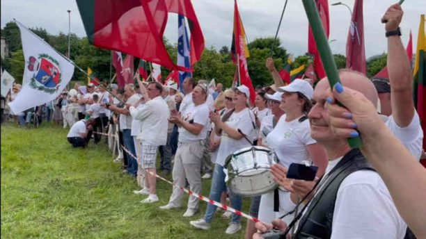 Protestai prie Seimo