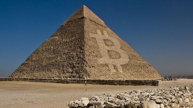 Bitkoinų piramidė