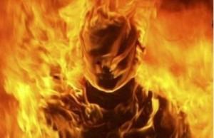 degantis žmogus