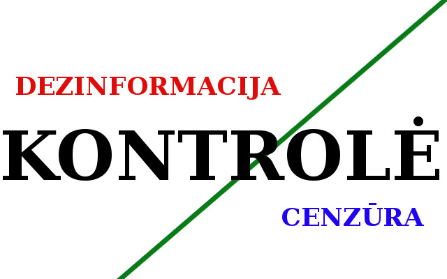Kontrolė per dezinformacioją