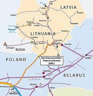 Dujų jungtis su Lenkija