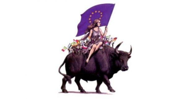 Europa ant Jaučio