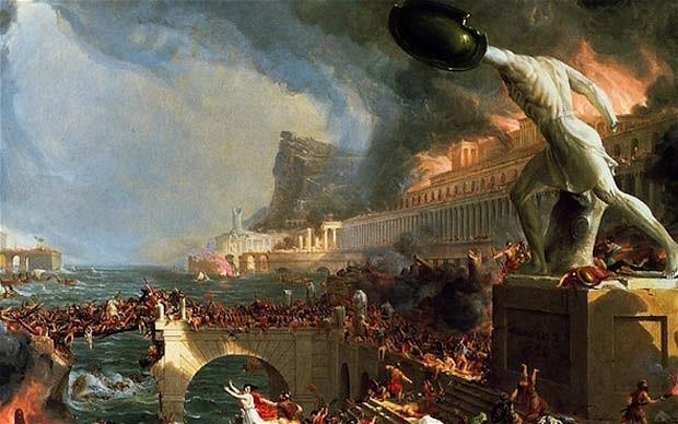 Romos žlugimas