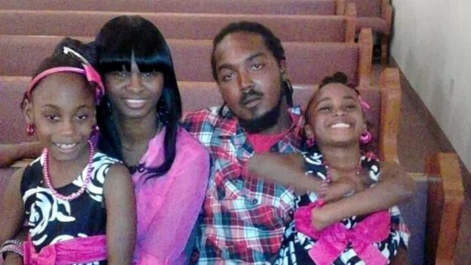 Gregory Vaughn Hill su vaikais