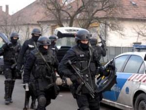 vengrų policija