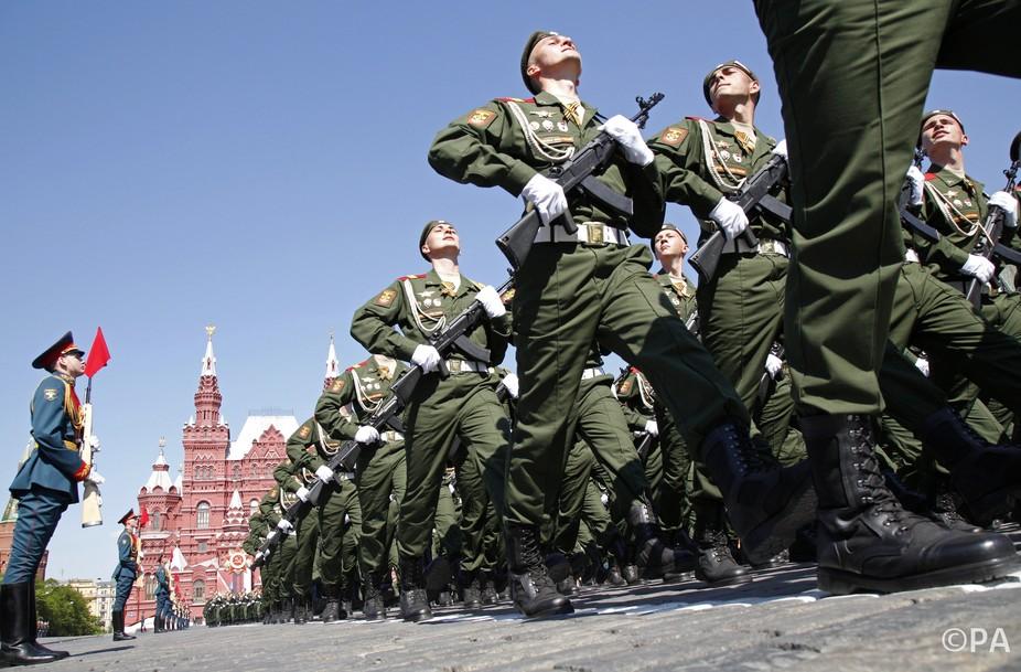 Pergalės paradas Rusijoje, Maskvoje