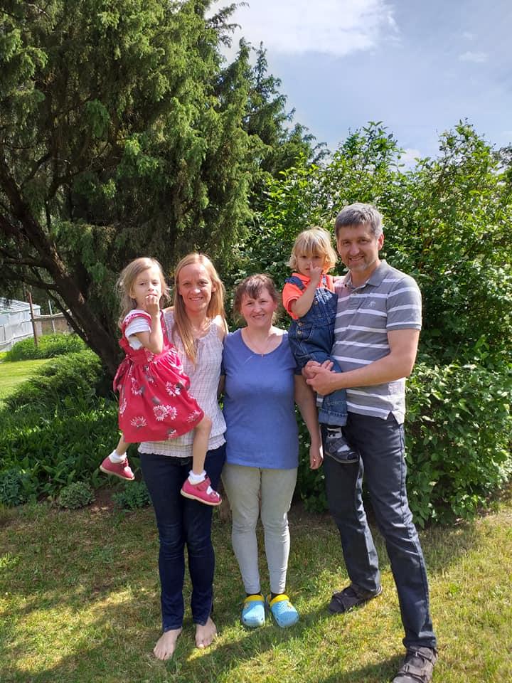 Eglės ir Gintaro Kručinskų šeima