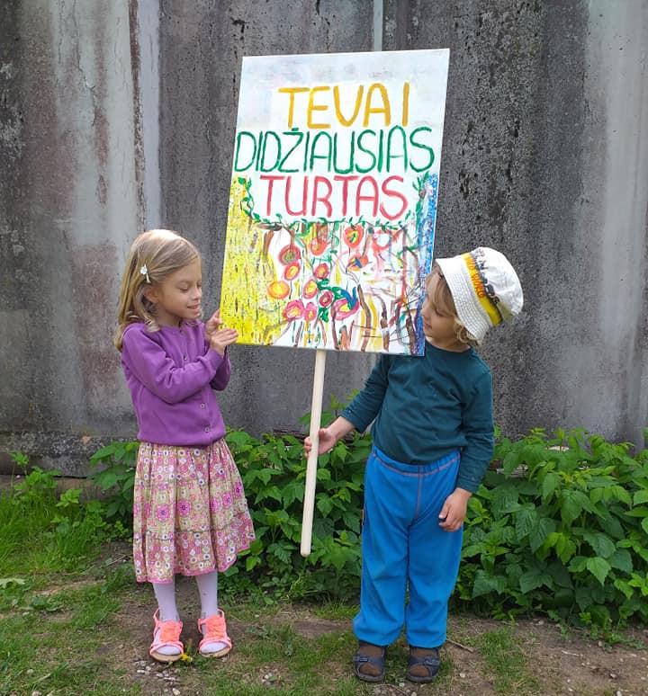 Gintaro ir Eglės Kručinskų vaikai