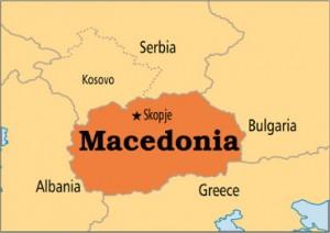 Žemėlapis - Makedonija