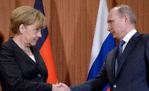 Merkel - Putinas - paveikslėlis