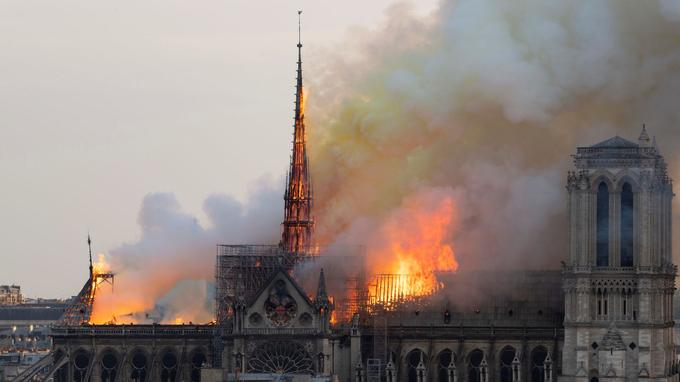 Dievo Motinos Katedros gaisras Paryžiuje