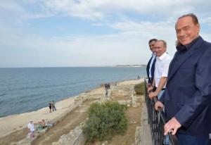 Putinas ir Berlusconi Kryme