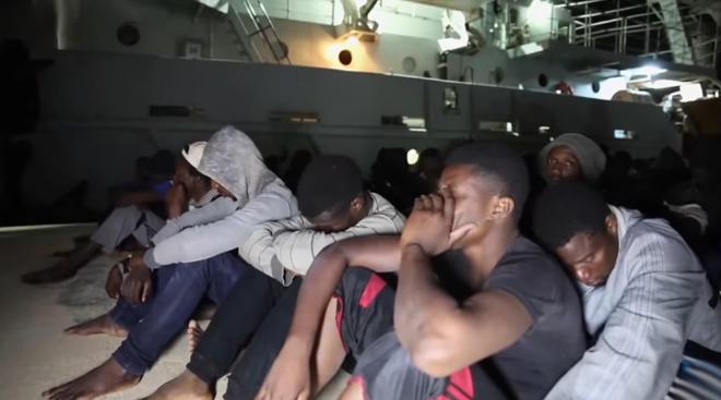 pabegeliai migrantai