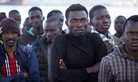 Afrikiečiai migrantai