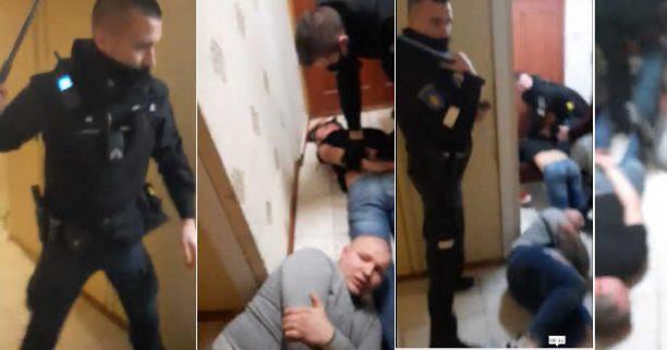 Policija muša žmones