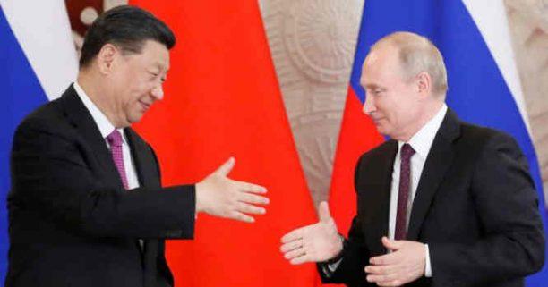 V. Putinas ir Xi Jinpingas