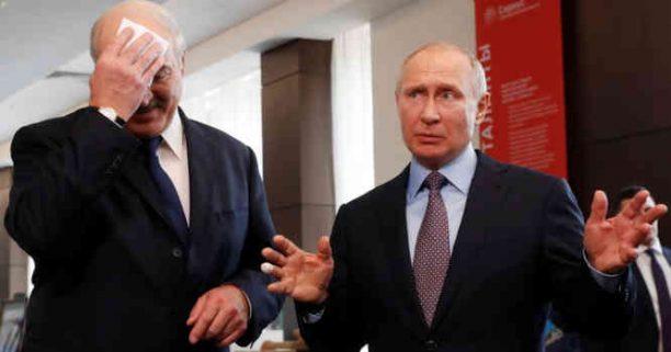 Putinas ir Lukašenka