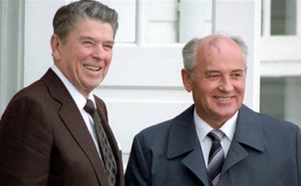 Reiganas ir Gorbačiovas