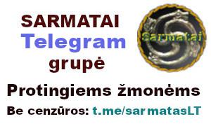 Telegram grupė - Sarmatai