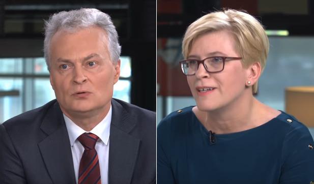 Ingrida Šimonytė ir Gitanas Nausėda