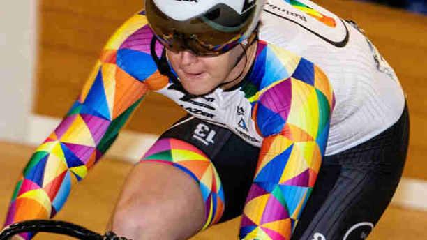 Rachel McKinnon yra favoritė ginant savo 35–44 sprinto titulą