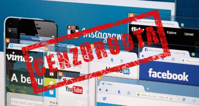 Socialinių tinklų cenzūra