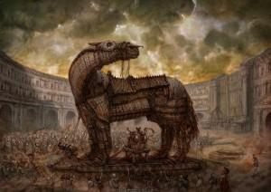 Trojos arklys - paveikslėlis