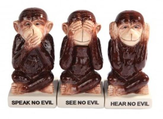 Trys beždžionės