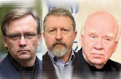 Signatarai Zigmas Vaišvila, Audrius Butkevičius, Bronislovas Genzelis