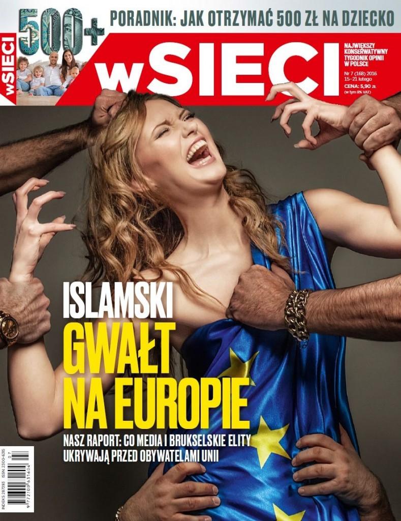 Islamas prievartauja Europą