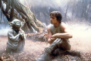 Yoda and Skywalker